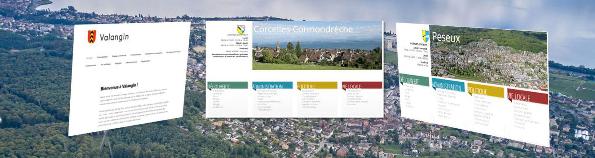 Sites anciennes communes