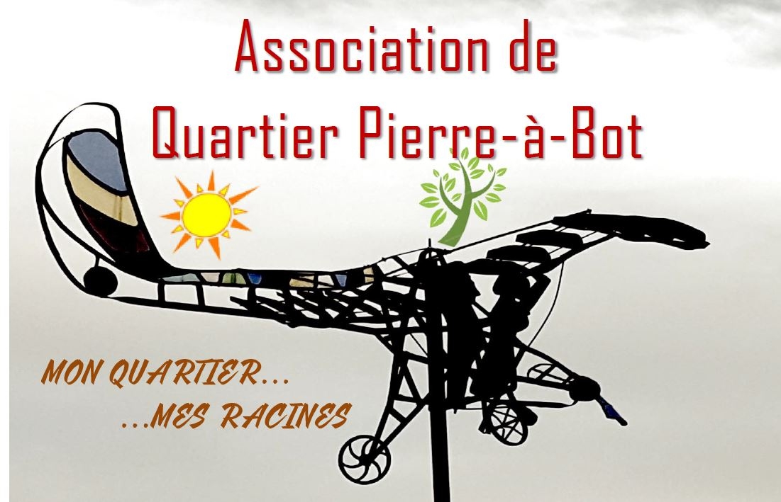 L'affiche de l'association de quartier de Pierre-à-Bot